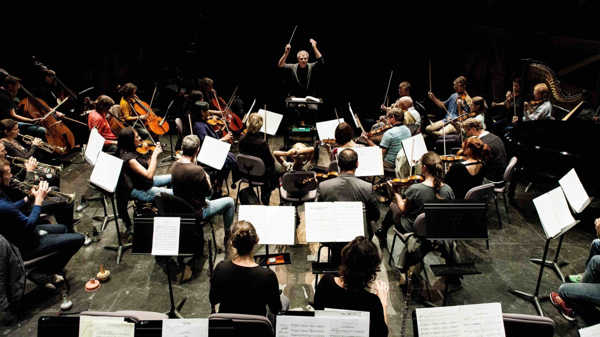 Orchestre des Jardins Musicaux, dir. Valentin Reymond © Giona Mottura
