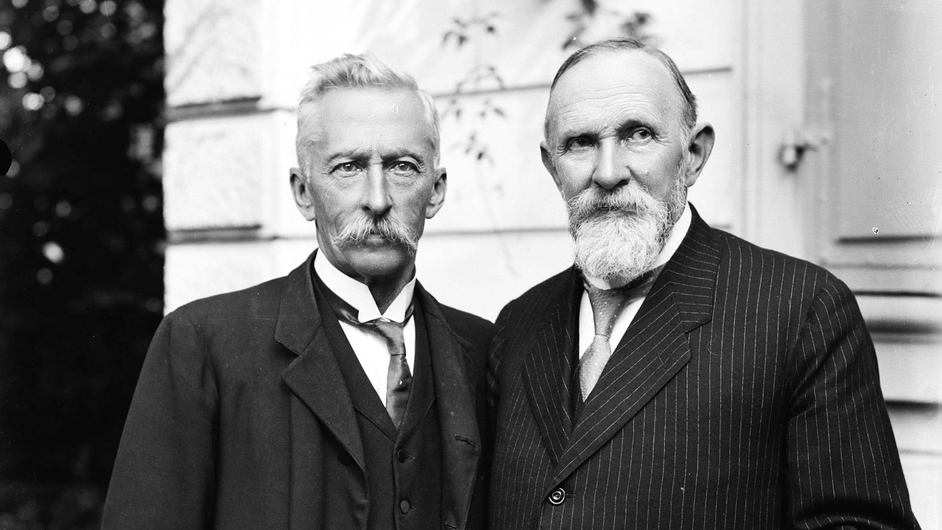 Victor Gross et Carl Spitteler © Alfredo Acquadro