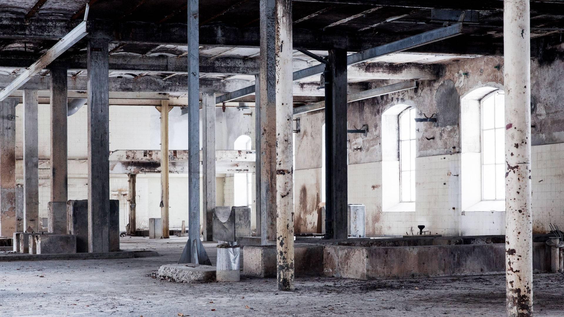 Ancienne fabrique de pâte de bois, Rondchâtel © Giona Mottura