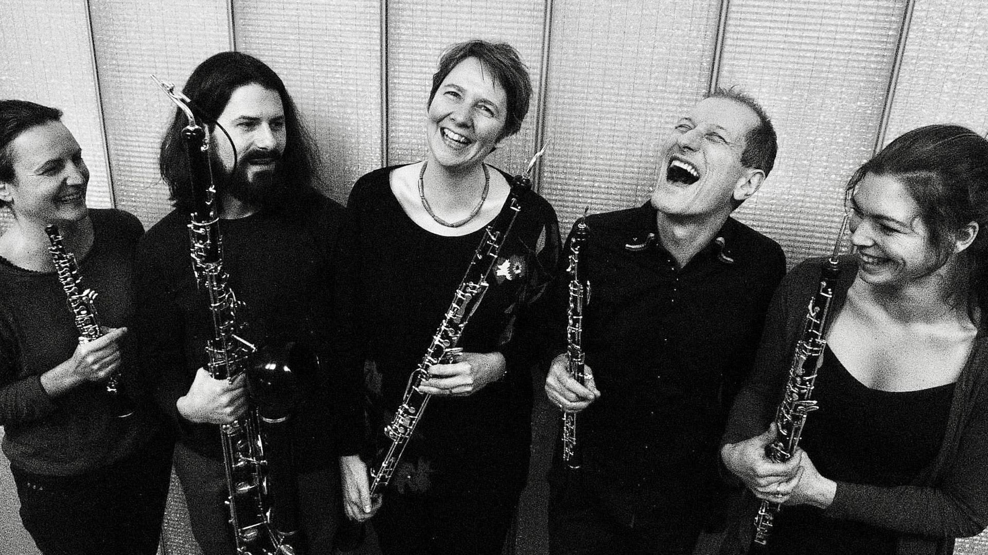 De gauche à droite: Valentine Collet, Martin Bliggenstorfer, Béatrice Zawodnik Matthias Arter, Béatrice Laplante © M-C Delprat