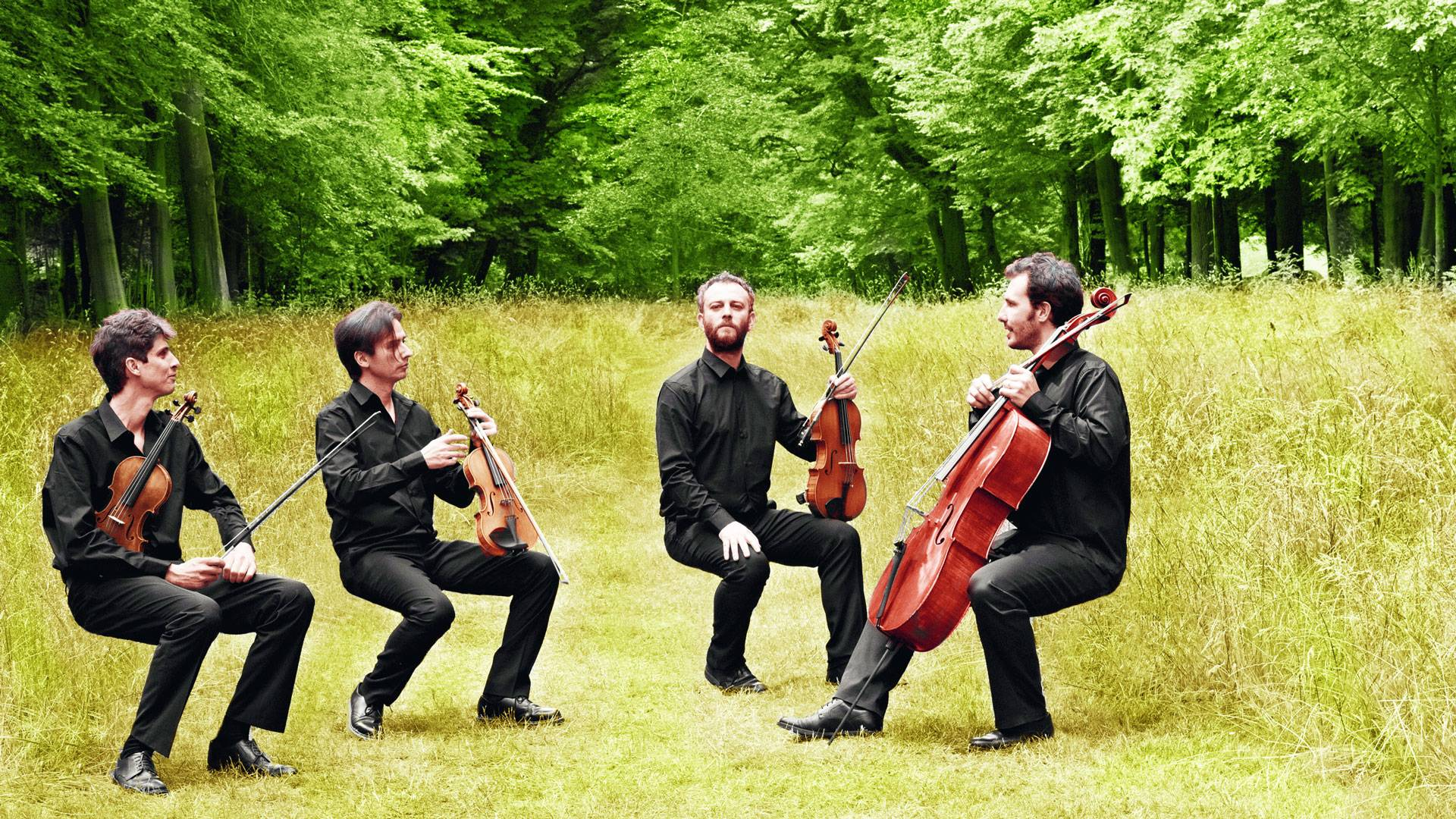 Quatuor Belà © JL Fernandez / Plonk Replonk