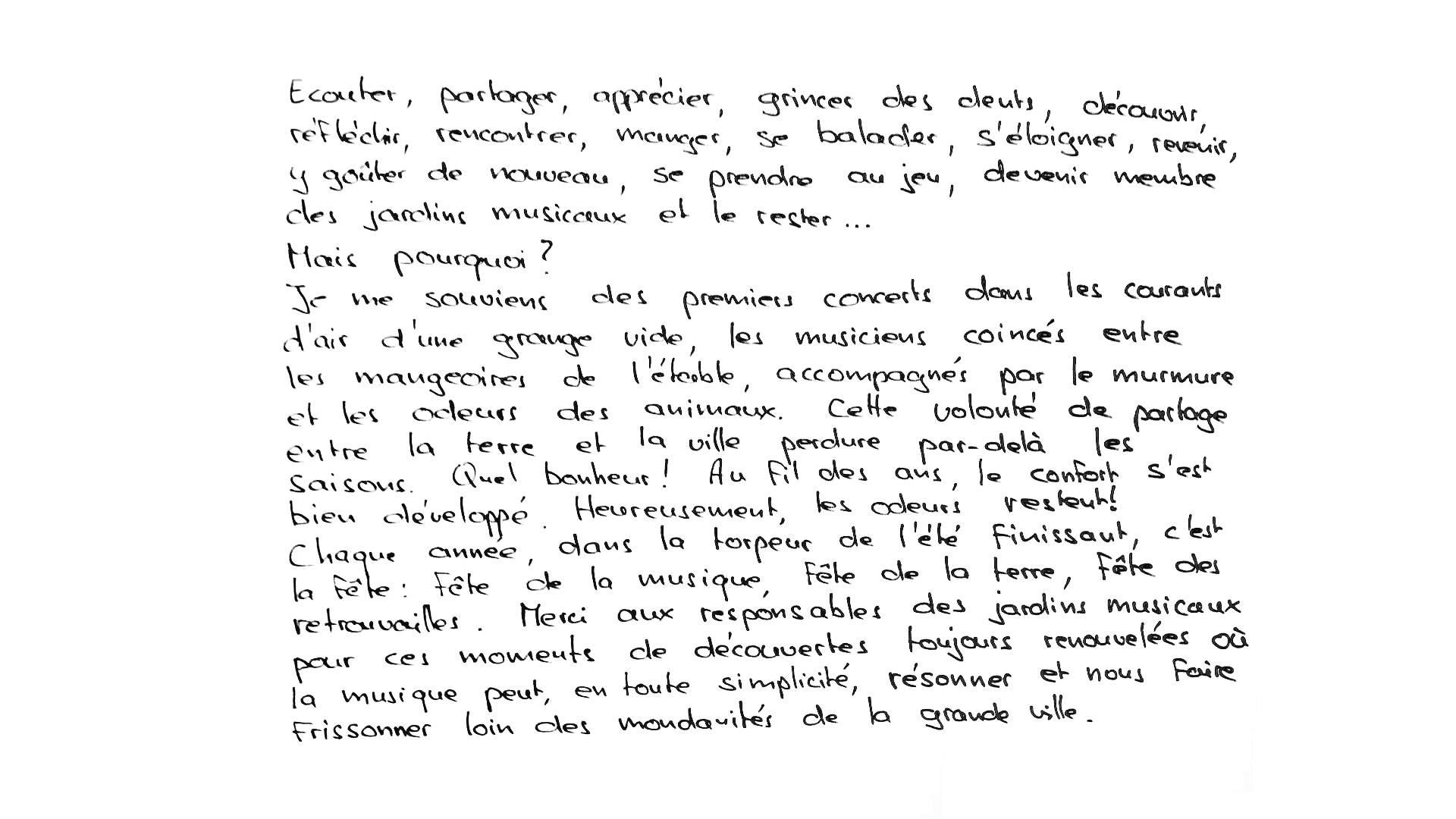 Texte de Jean-Pierre Liechti