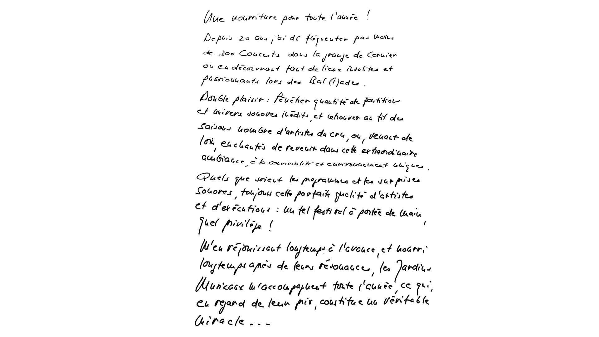 Texte de Pierre Macchi
