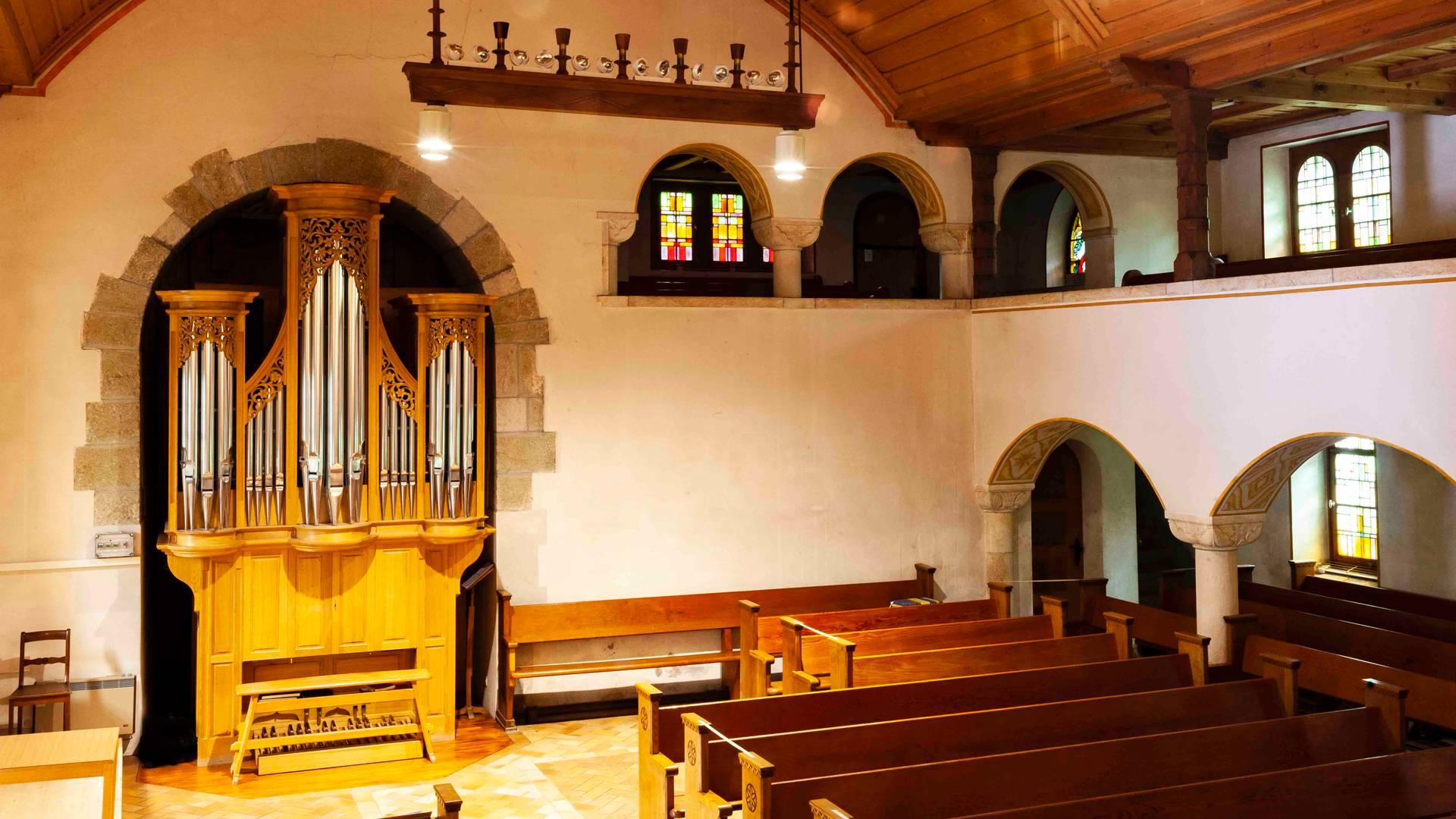 Église réformée de Courtelary © Giona Mottura